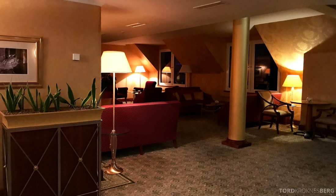 Marriott Prague Hotel Executive Lounge underetasje