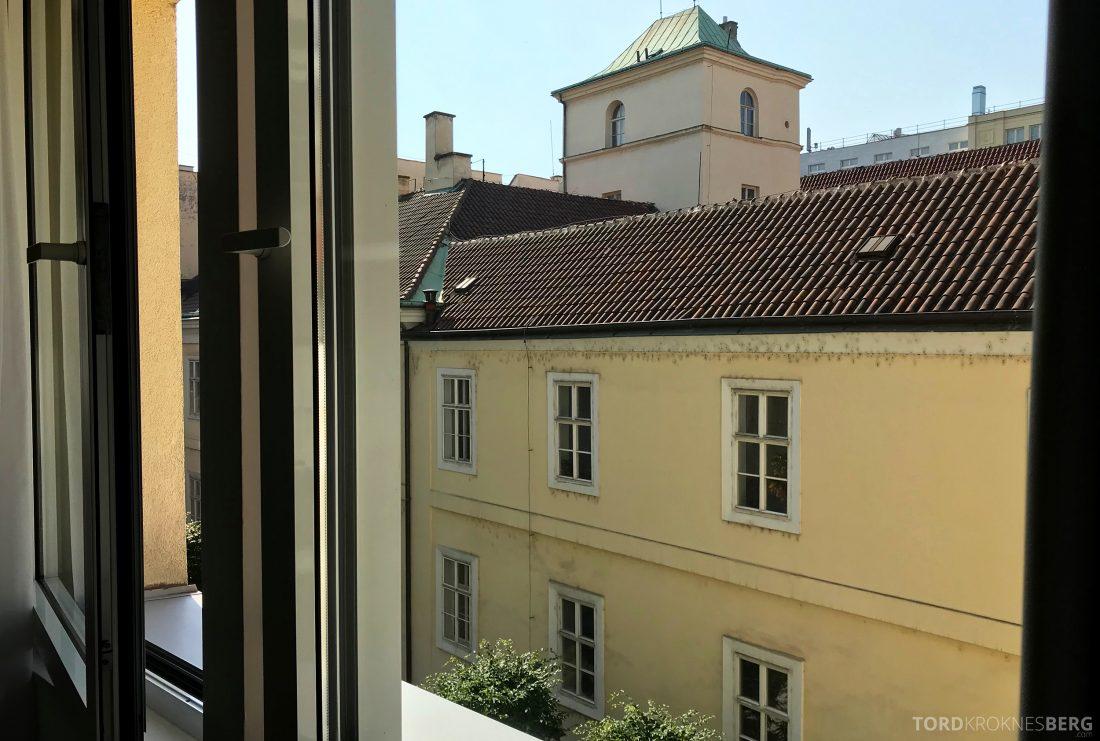 Marriott Prague Hotel utsikt