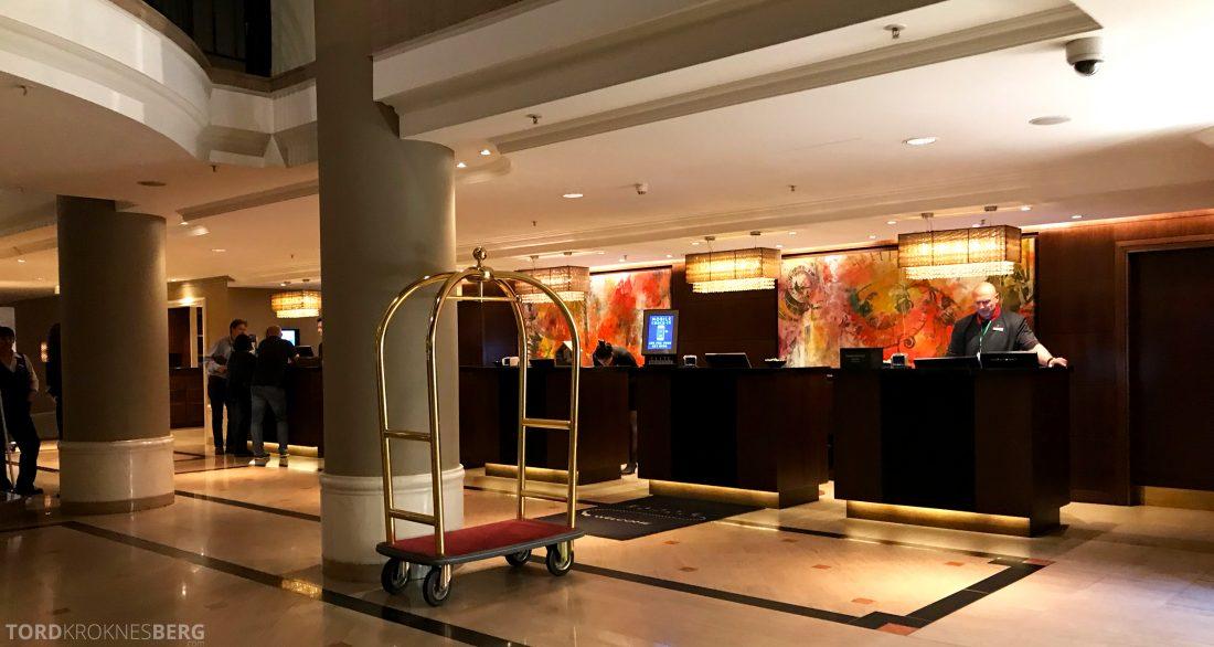 Marriott Prague Hotel resepsjon