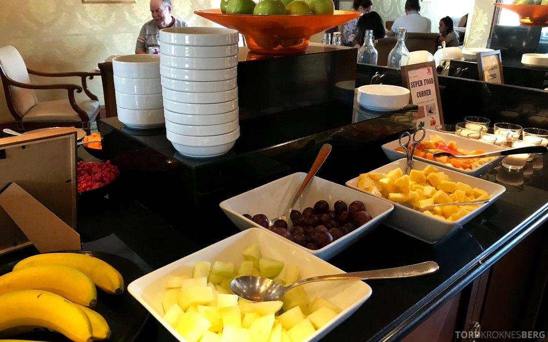 Marriott Prague Hotel Executive Lounge frokost