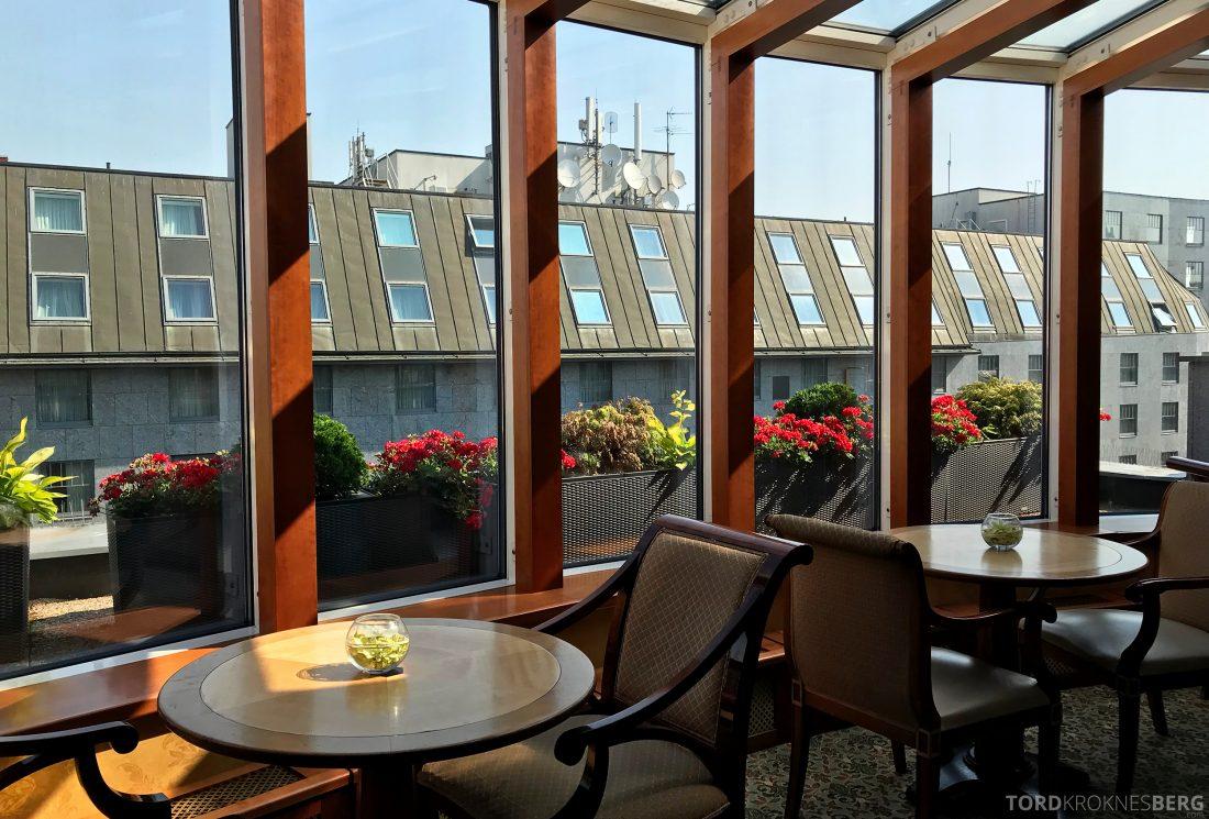 Marriott Prague Hotel Executive Lounge utsikt