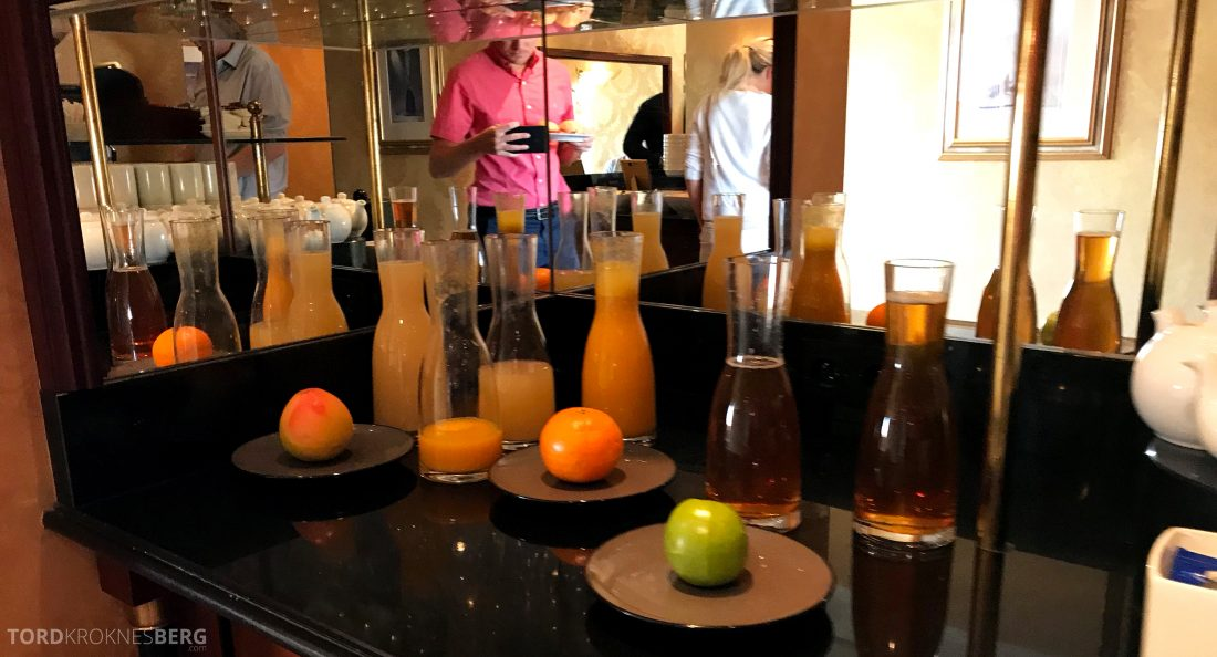Marriott Prague Hotel Executive Lounge juice