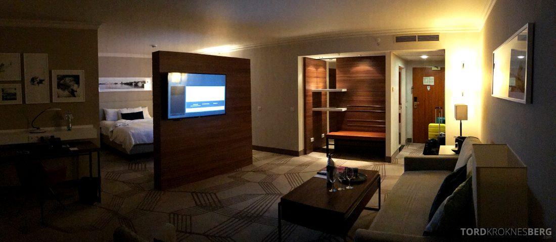 Marriott Prague Hotel panorama suite