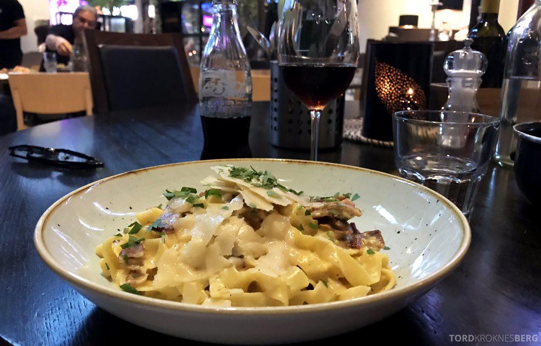 Restaurant Bella Bambina Oslo pasta