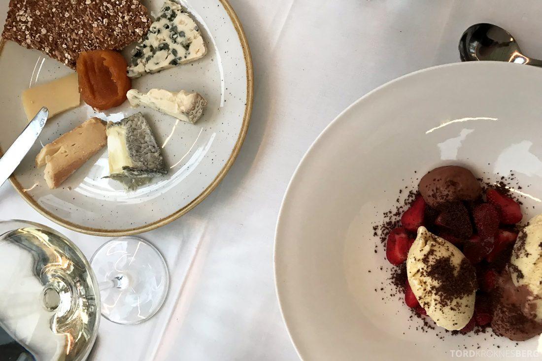 Restaurant Rodins Bistro Oslo dessert