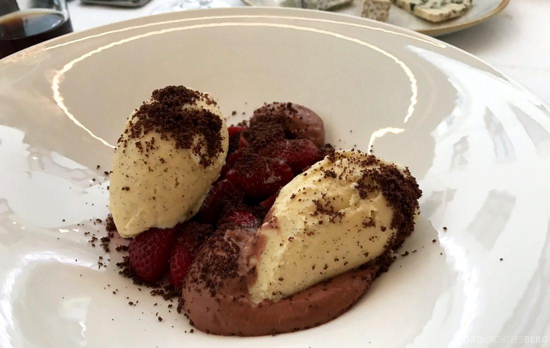 Restaurant Rodins Bistro Oslo jordbær