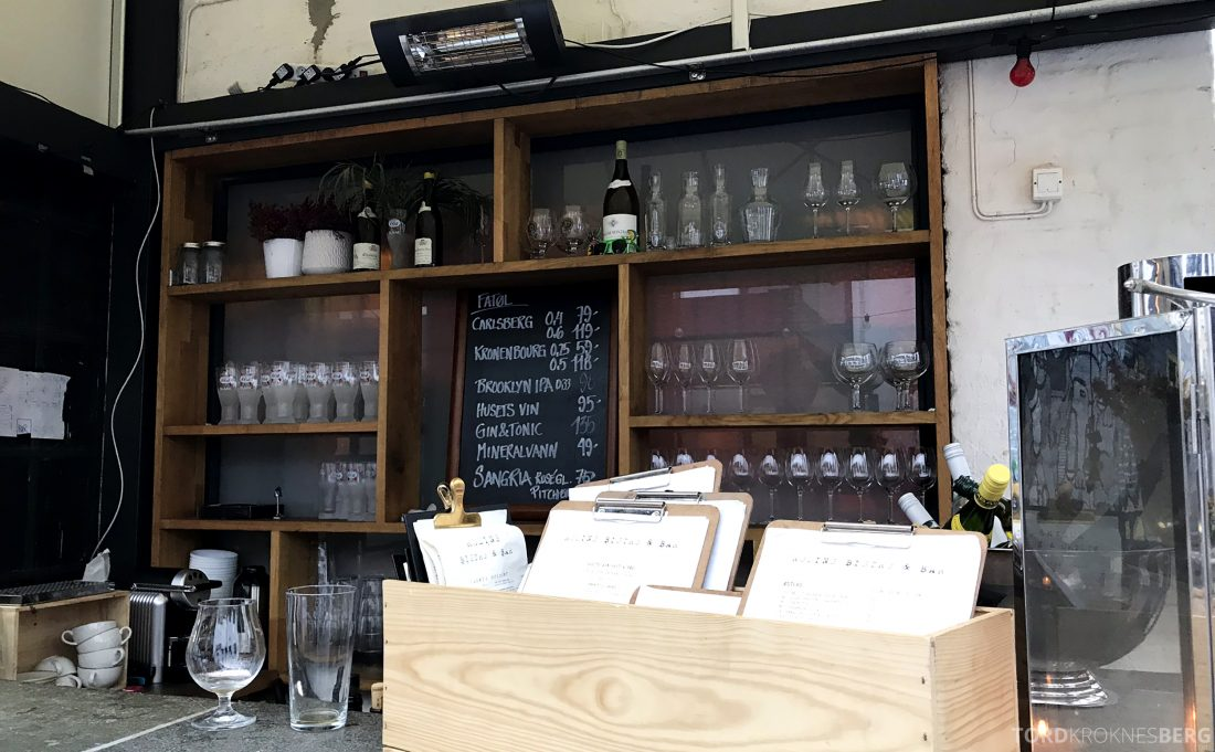 Restaurant Rodins Bistro Oslo bar