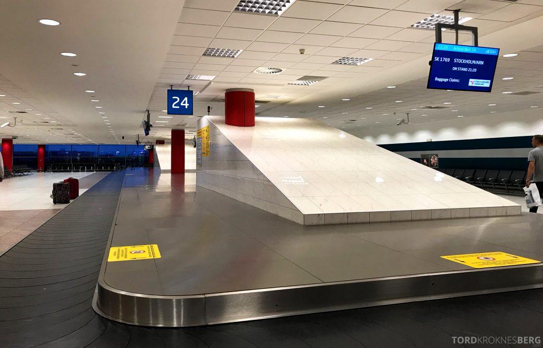 SAS Plus Oslo Praha bagasje