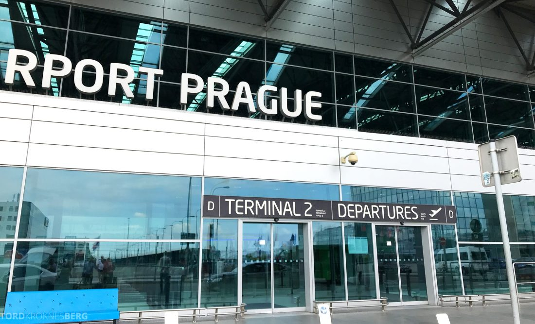 SAS Plus Oslo Praha Lounge terminal