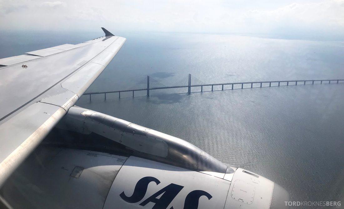 SAS Plus Oslo Praha Øresundsbroen