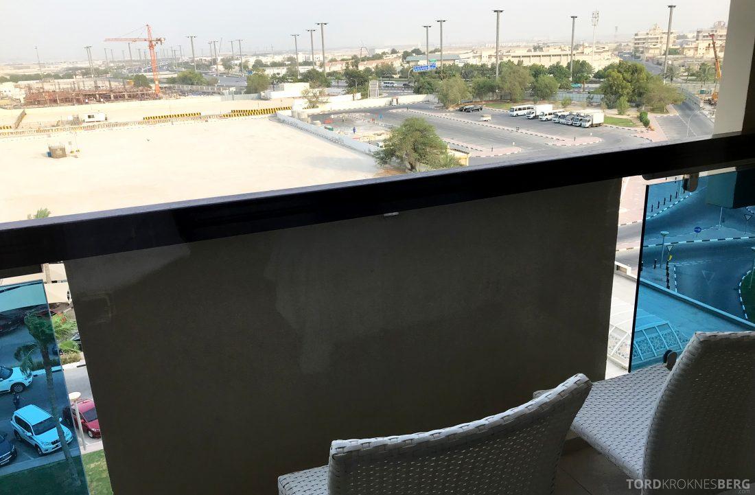 Marriott Doha Hotel balkong