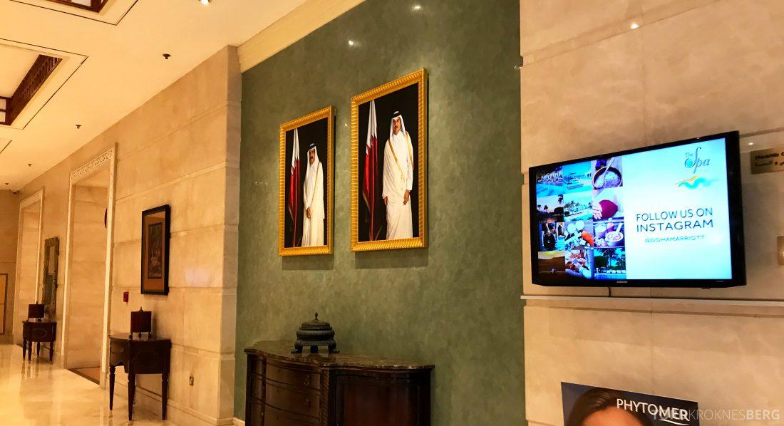 Marriott Doha Hotel sjeik