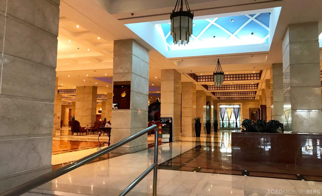 Marriott Doha Hotel lobby
