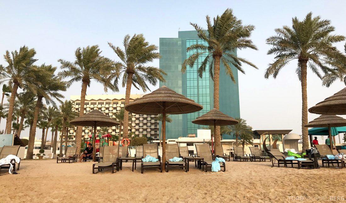 Marriott Doha Hotel strand