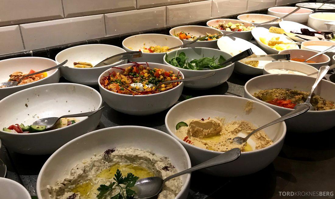 Marriott Doha Hotel Executive Lounge salater