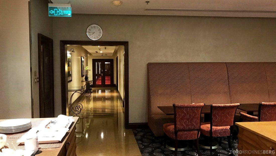 Marriott Doha Hotel Executive Lounge gang