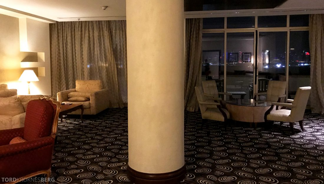Marriott Doha Hotel Executive Lounge sitteplasser