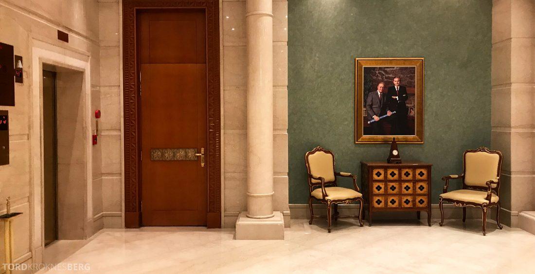 Marriott Doha Hotel lobbyområdet