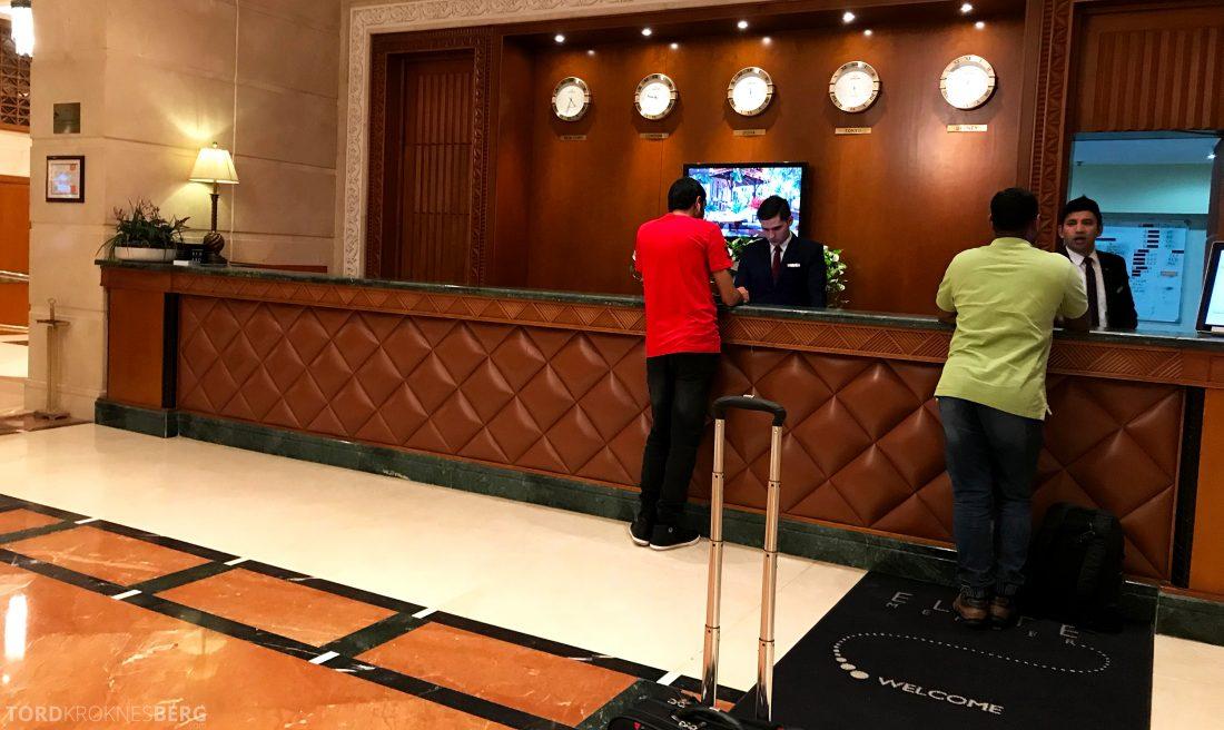 Marriott Doha Hotel innsjekk