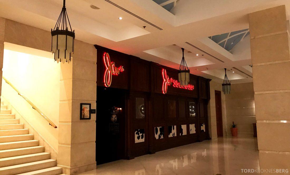Marriott Doha Hotel restaurant