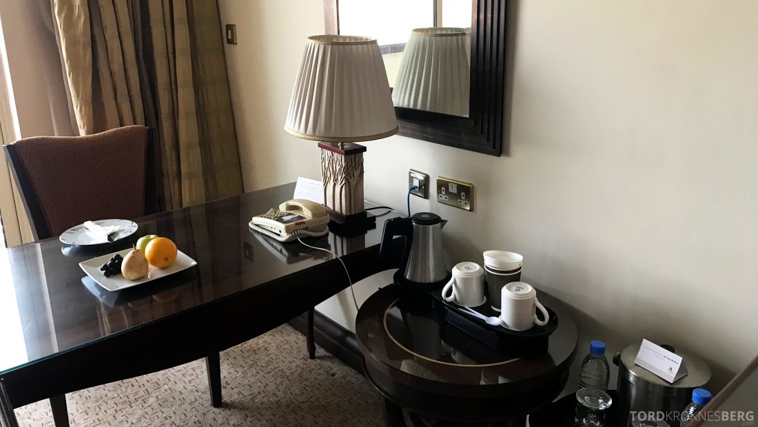 Marriott Doha Hotel skrivebord
