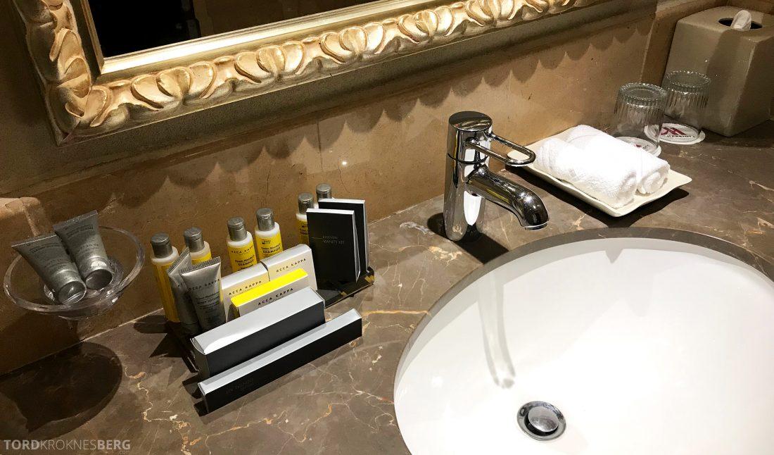 Marriott Doha Hotel toalettsaker