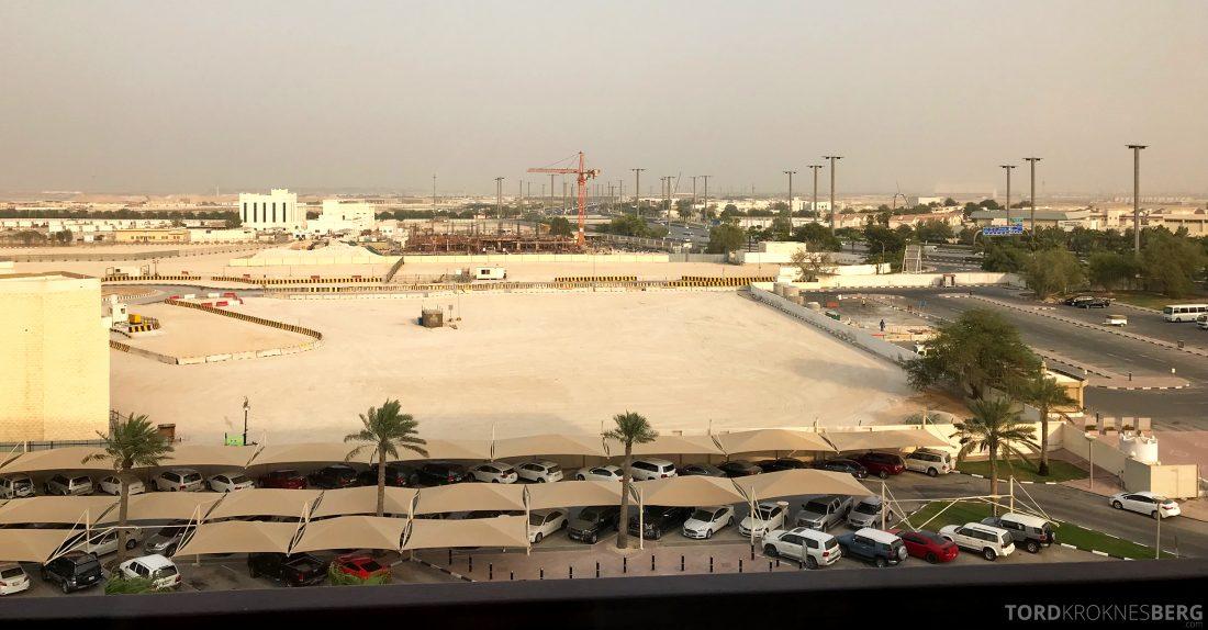 Marriott Doha Hotel utsikt