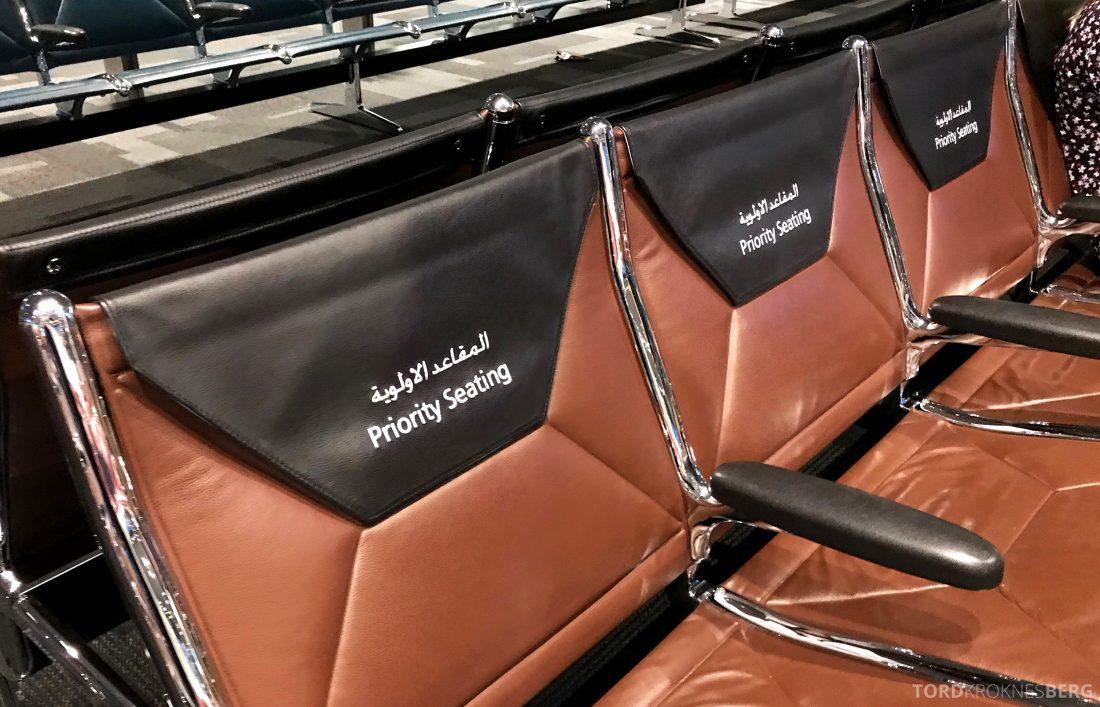 Qatar Airways Business Class Doha Penang prioritet