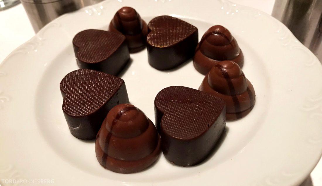 Feringgi Grill Shangri-La Penang Restaurant sjokolade