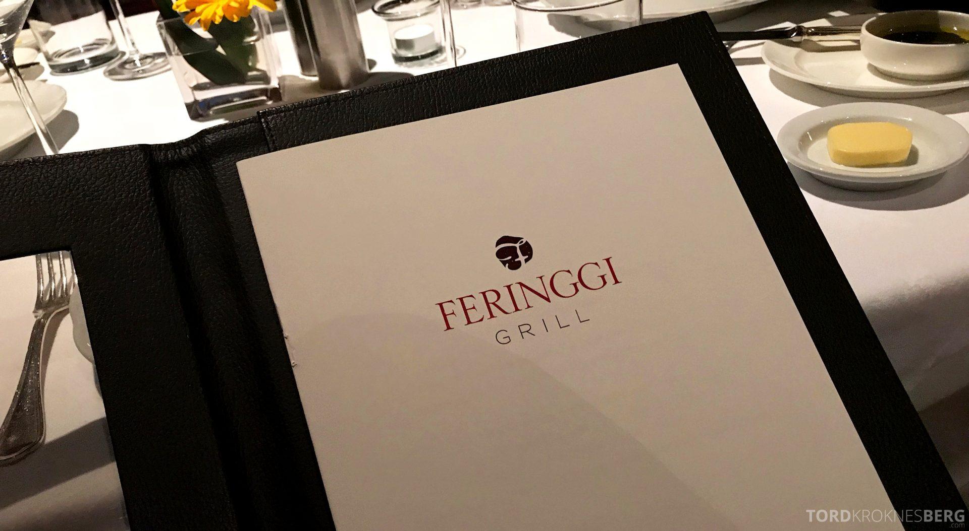 Feringgi Grill Shangri-La Penang Restaurant meny