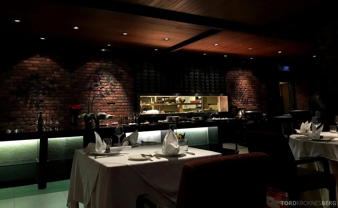 Feringgi Grill Shangri-La Penang Restaurant åpent kjøkken