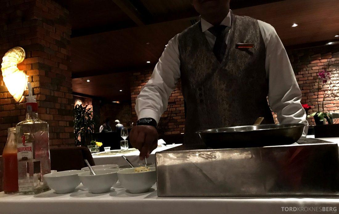 Feringgi Grill Shangri-La Penang Restaurant tilberedelse