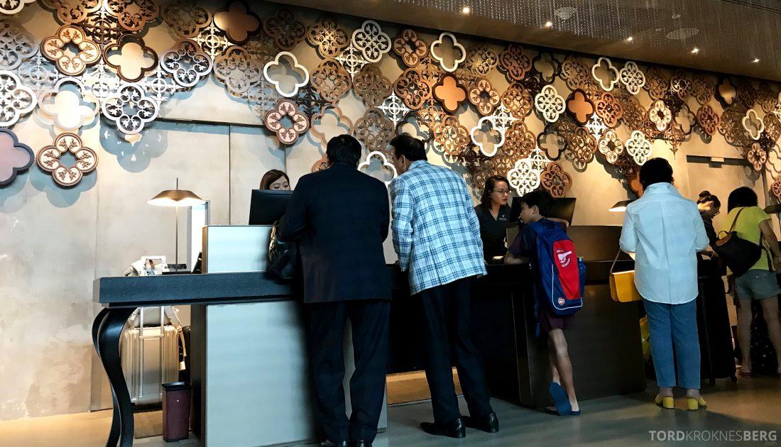 JW Marriott Hotel South Beach Singapore innsjekk