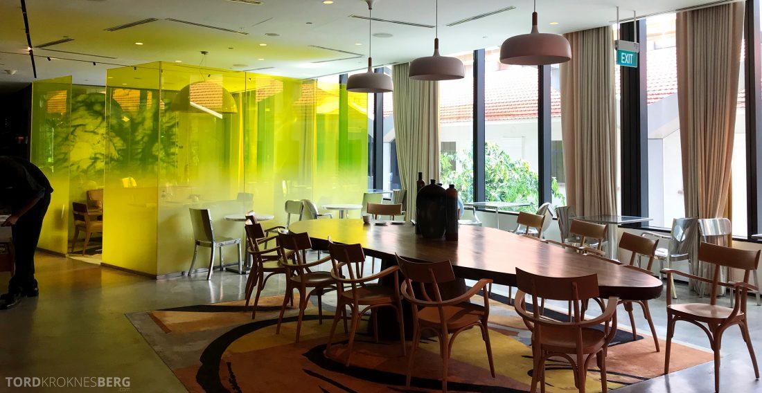 JW Marriott Hotel South Beach Singapore Executive Lounge sitteplasser