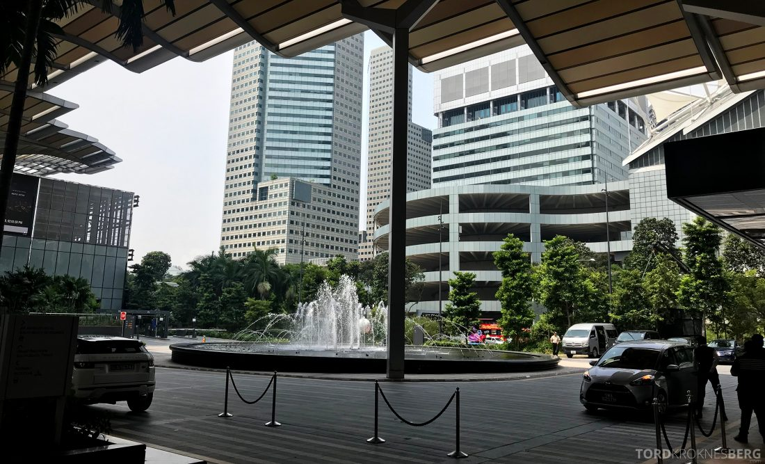 JW Marriott Hotel South Beach Singapore utenfor
