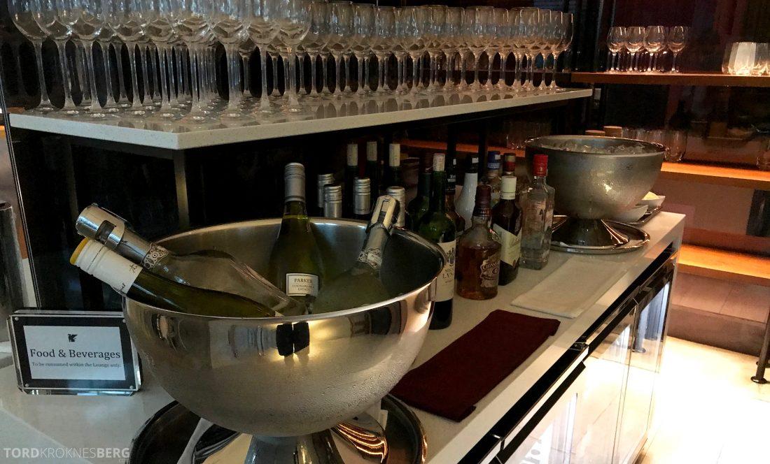 JW Marriott Hotel South Beach Singapore Executive Lounge drikke