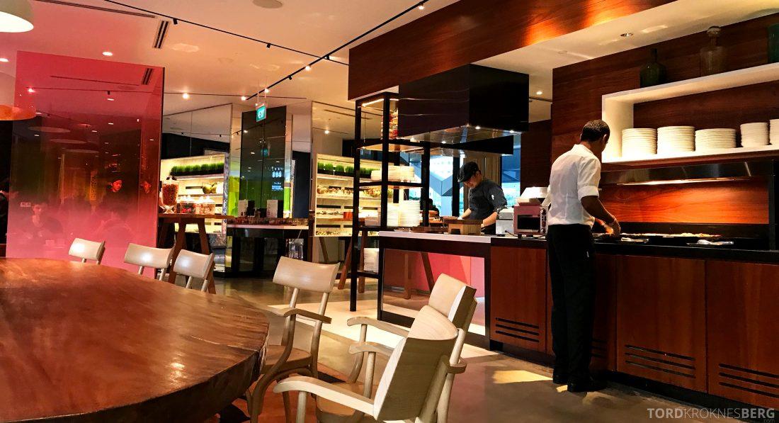 JW Marriott Hotel South Beach Singapore Executive Lounge buffet