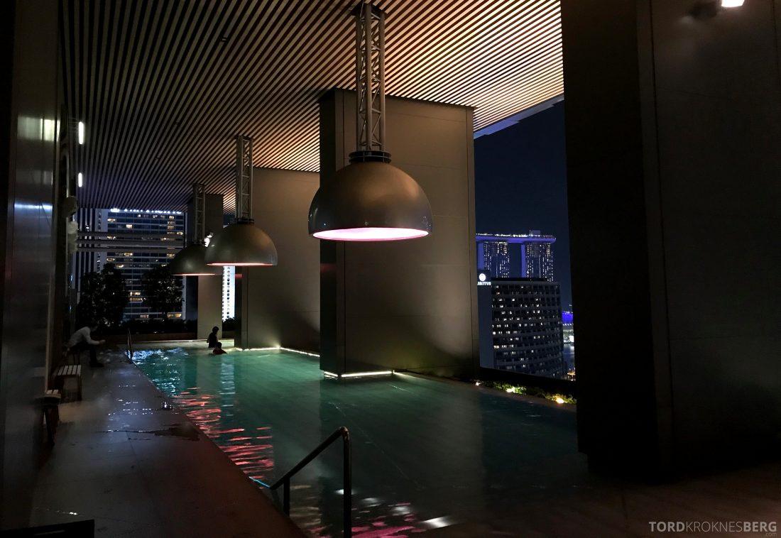 JW Marriott Hotel South Beach Singapore basseng