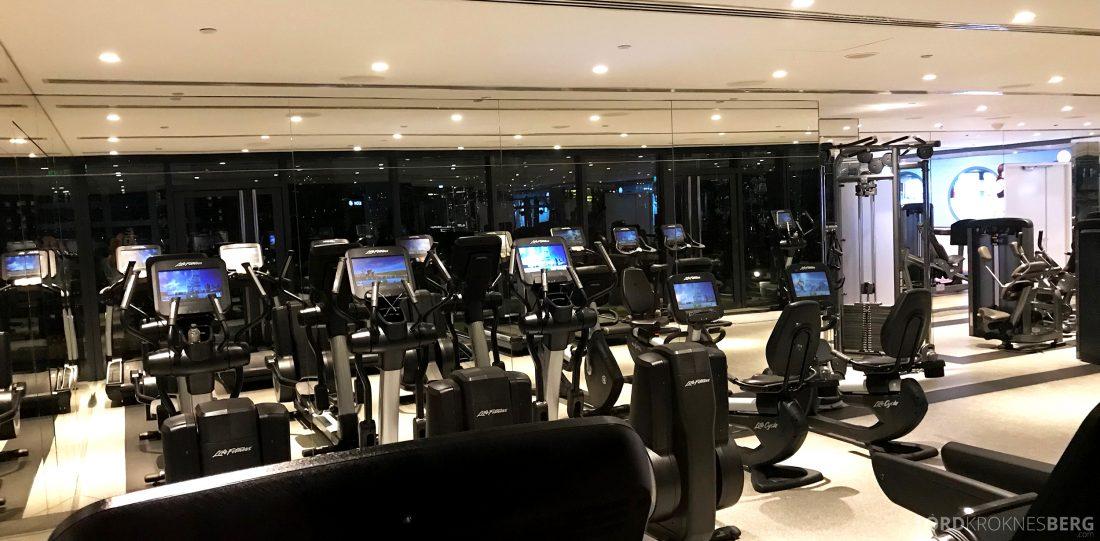 JW Marriott Hotel South Beach Singapore gym