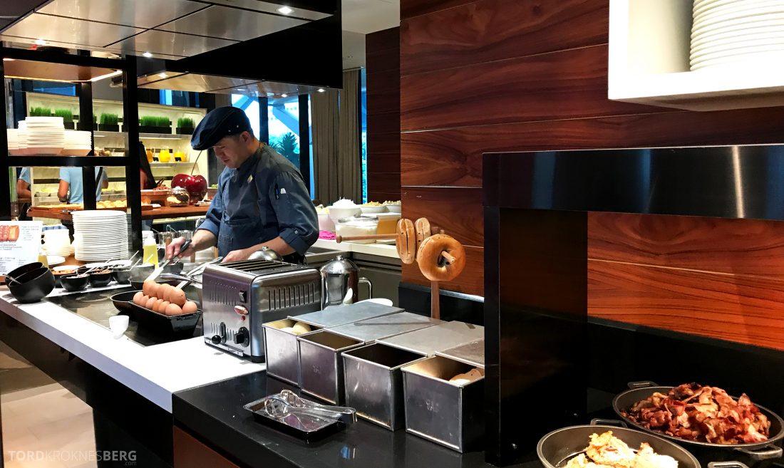 JW Marriott Hotel South Beach Singapore Executive Lounge kokk