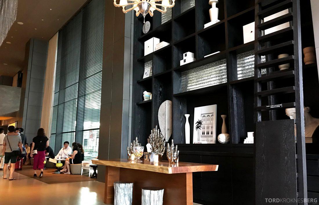JW Marriott Hotel South Beach Singapore lobby