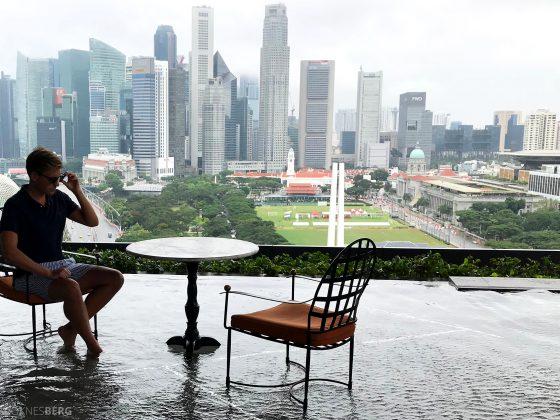 JW Marriott Hotel South Beach Singapore Tord Kroknes Berg utsikt
