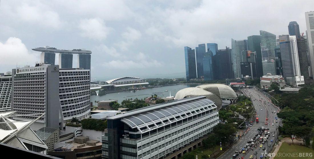 JW Marriott Hotel South Beach Singapore utsikt dagslys