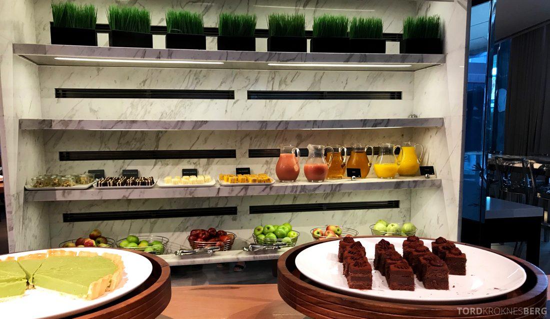 JW Marriott Hotel South Beach Singapore Executive Lounge afternoon tea