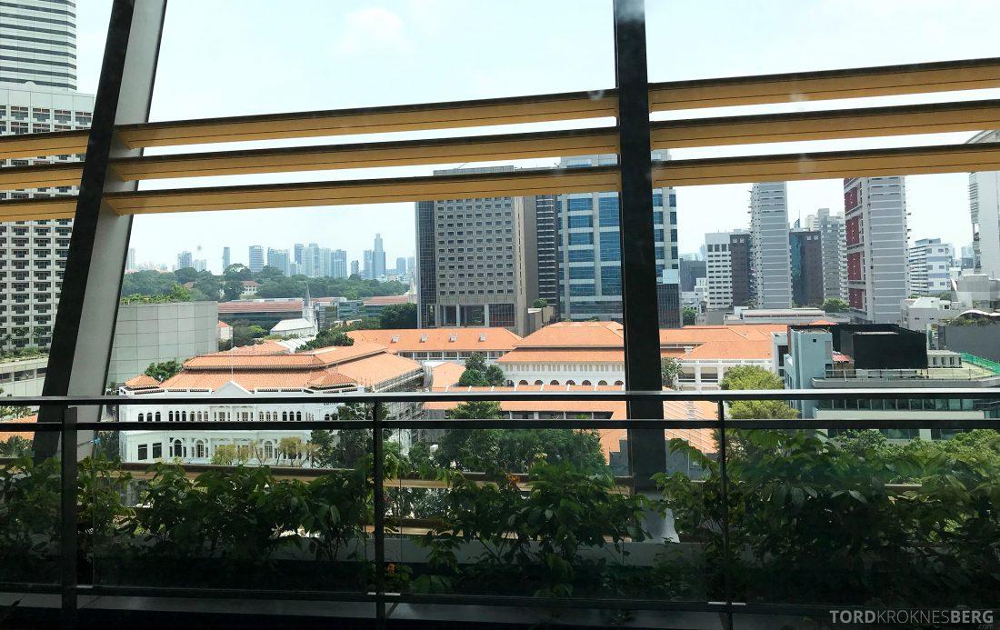 JW Marriott Hotel South Beach Singapore utsikt
