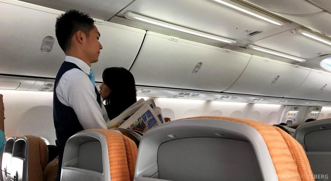 SilkAir Economy Class Penang Singapore aviser