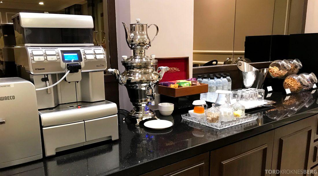 Hotel Majestic Autograph Collection Kuala Lumpur kaffemaskin lounge