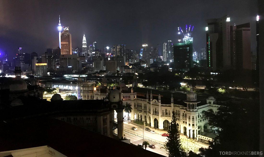 Hotel Majestic Autograph Collection Kuala Lumpur utsikt natt