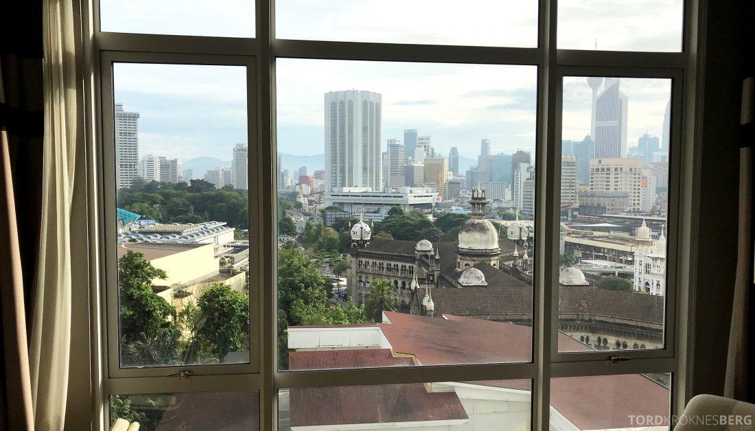 Hotel Majestic Autograph Collection Kuala Lumpur utsikt suite