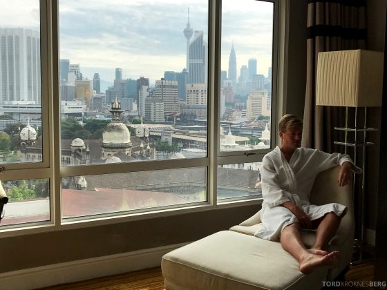 Hotel Majestic Autograph Collection Kuala Lumpur Tord Kroknes Berg rom utsikt